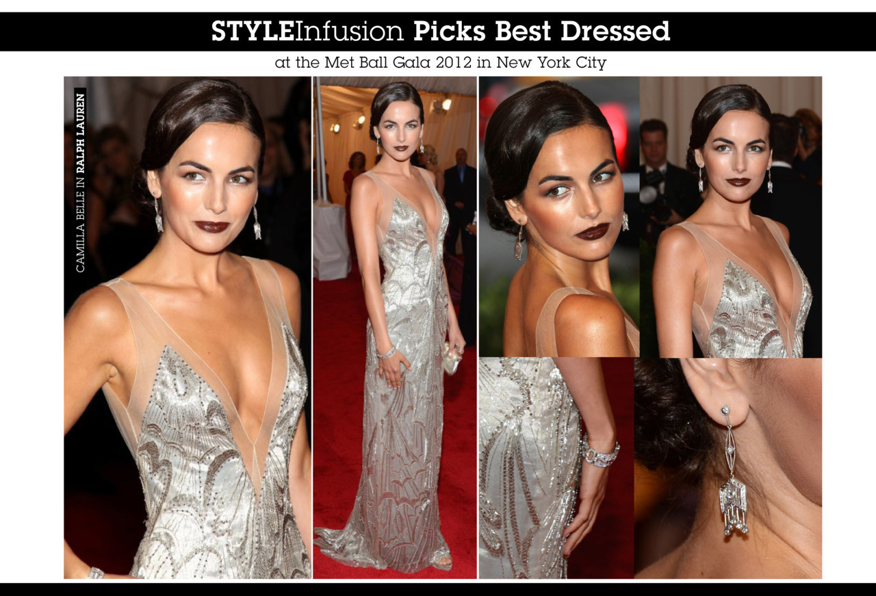The beautiful Camilla Belle in Ralph Lauren.