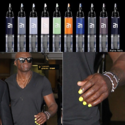 Seal sporting my background on his nails.