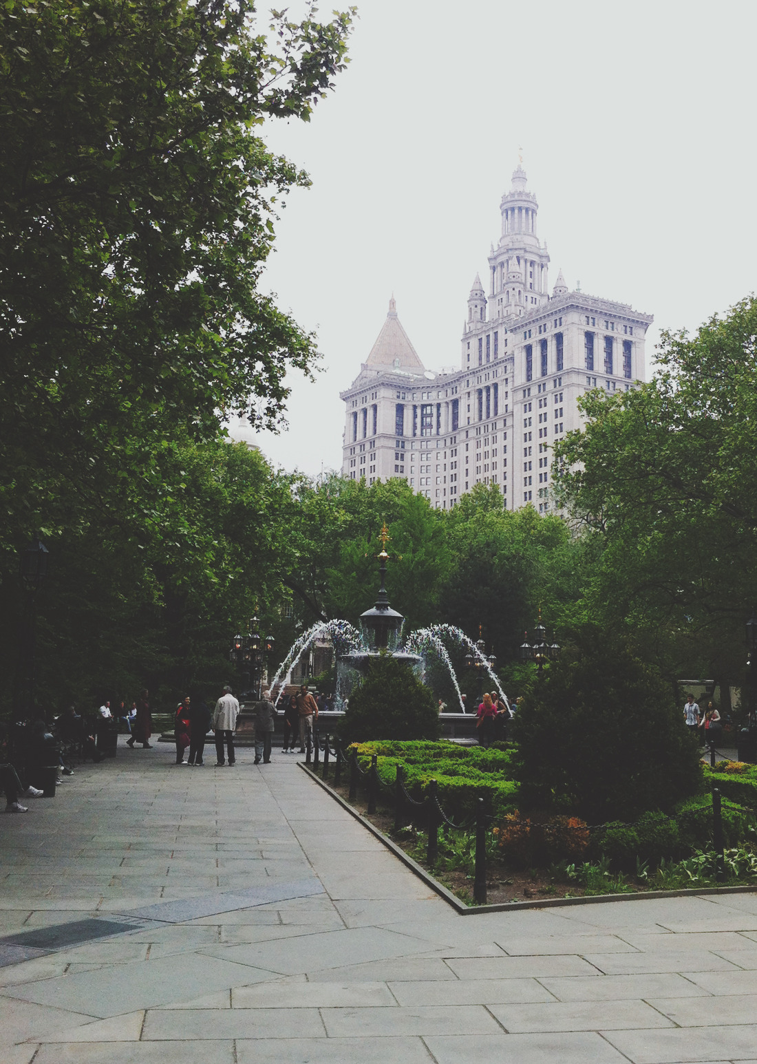City Hall, NYC. (by Moey Hoque)