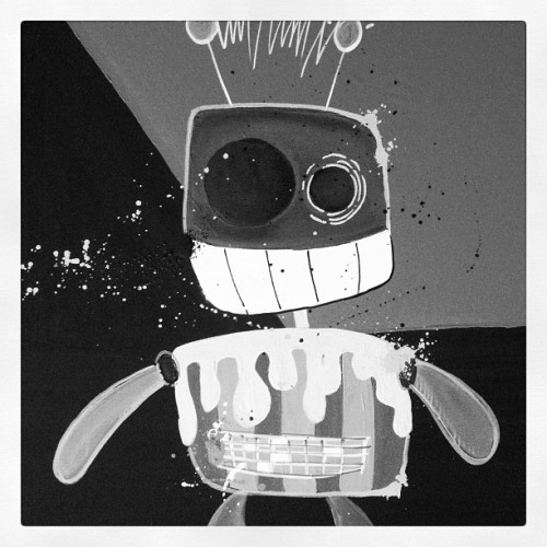 Bots have arrived. #robots #art #xibiecorea (Taken with instagram)