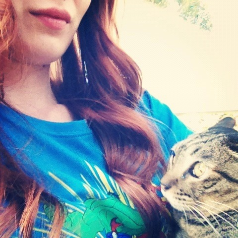 Me with my cat :)