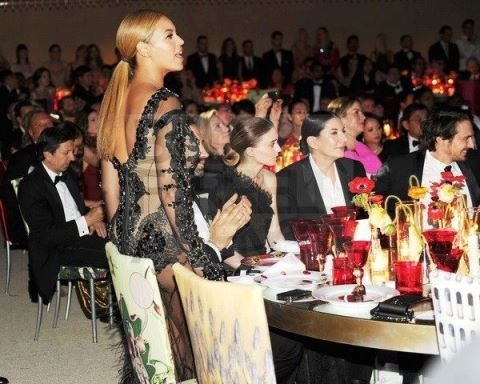 beyonceindonesia:  Beyoncé Inside the Met Gala 2012