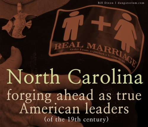 North Carolina: Forging Ahead By Bill Dixon