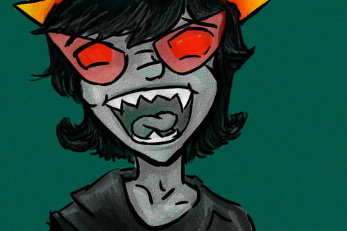I don't even know if this is finished but it's terezi or whatever