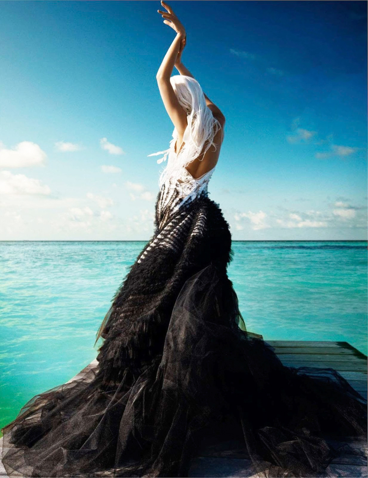May Days | Vogue India May 2012Jessiann Gravel-Beland by Luis Monteiro John Galliano | Spring 2012 RTW