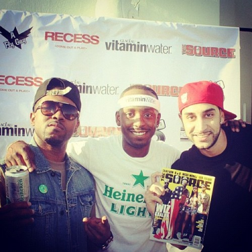 #strongarm/#poeboy family :: @ghostwridah me & @dj360 at #Recess 05/05/12 (Taken with instagram)