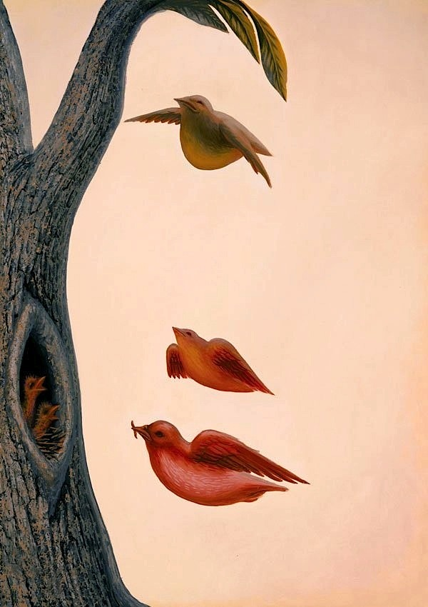 Octavio Ocampo, Family of Birds