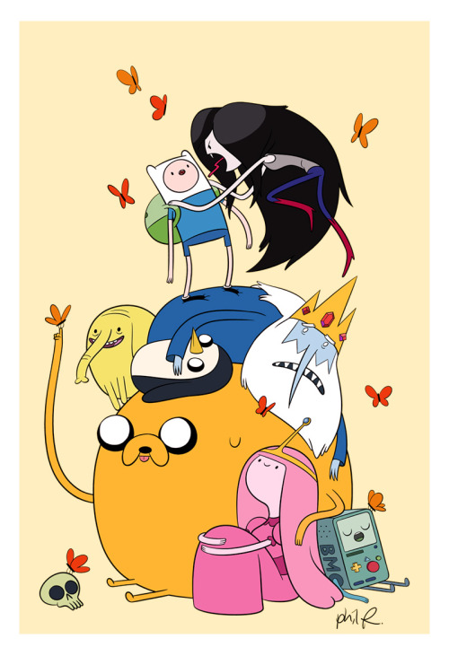 adventuretime:  You can take the artist out of Adventure Time, but you can't take Adventure Time out of the artist. Please follow America's Favorite Uncle, Phil Rynda. philryndanews:  Hi internet… It's been a while.  I'll be around a little more often. Promise. love, Phil