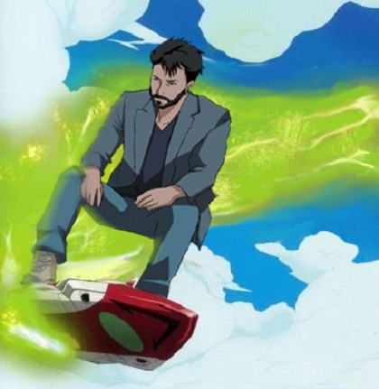 Keanu Reeves is an anagram for Eureka Seven