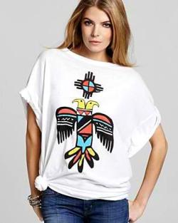 Spring t-shirts by Wildfox Couture now sold at Bloomingdale's