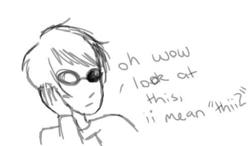 "bECAUSE i HAVEN'T DONE ANYTHING IN FOREVER""  dAVE COSPLAYING AS sOLLUX"",  oH, hEY, lOOK"" fOLLOWERS"", c: {"