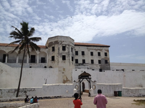 Elmina Castle. This is one of the Castles you will like to consider visiting while in Ghana. This is a beautiful Castle but full of sad memories. You'll get to take a look at the dungeons that were used to hold slaves before they were shipped to Europe or America. You'll also learn  heaps of things that went on during slavery. It's a Must See.