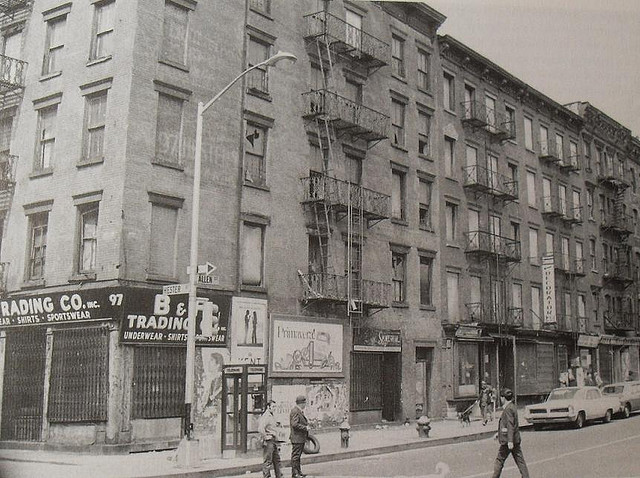 1960s Lower East Side Manhattan HESTER and ALLEN STREET NYC vintage photo NEW YORK CITY by Christian Montone on Flickr.
