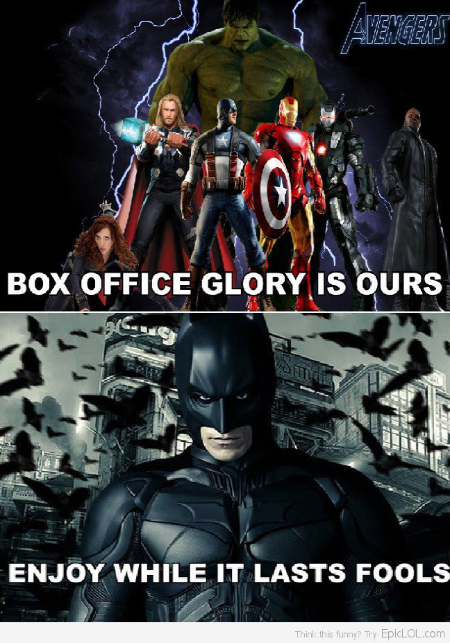well said Batman