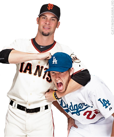 "Ryan Vogelsong's duel vs Clayton Kershaw, and he comes up on top with his first win of the season. Final line: 7.1IP, 8H, 1K, 3BB, 1ER. Let's not forget Javier ""Night Train"" Lopez's great effort to get Vogey out of the jam in the 8th."