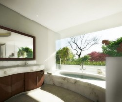 homedesigning:  (via Inspiring Bathroom Designs)  Beautiful bathroom