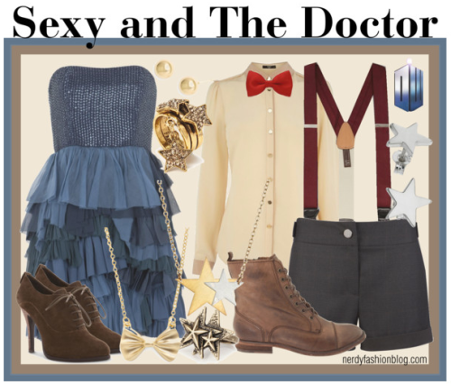 Sexy and The Doctor | Doctor Who by chelsealauren10