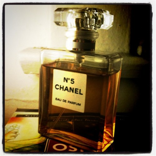 Chanel 5. May 8, A Smell I Adore #photoadaymay  (Taken with instagram)