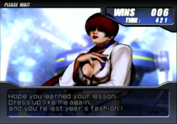 bison2winquote:  - Shermie to Shermie, NeoGeo Battle Coliseum (SNK-Playmore)