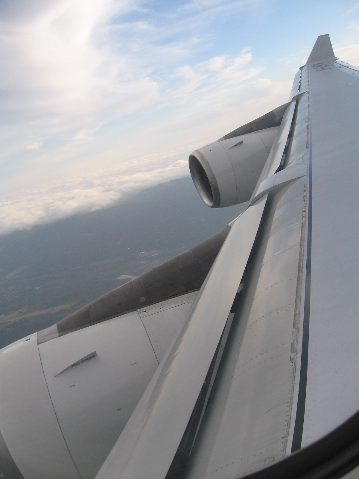 In my attempt to post some original photos: wing of an a340, somewhere over the philippines…thank you to the-boeing