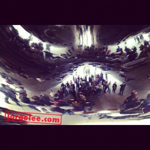 The Bean. #chicago #sculpture (Taken with instagram)
