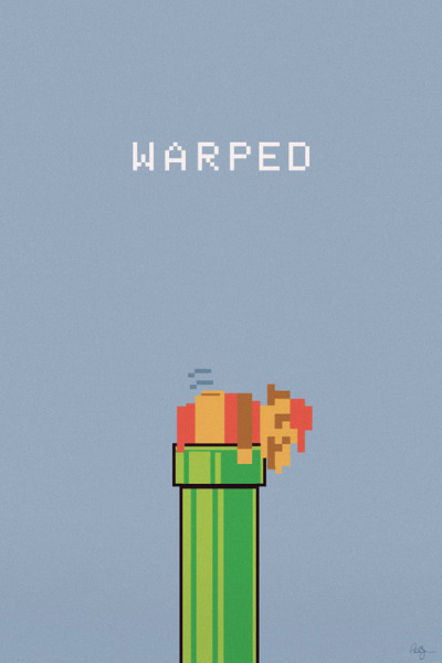 gamefreaksnz:   Warped Art Print by Phil Jones Artist: Website | Deviantart