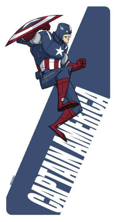 More Avengers: Captain America