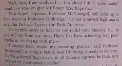 McGonagall is the best teacher everyone else can go home.