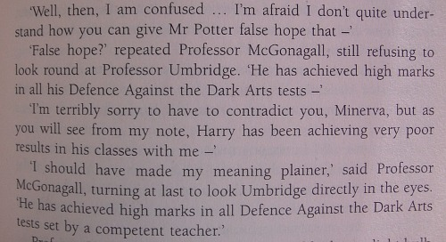 McGonagall is the best teacher everyone else can go home.      I remember when I first read the book I was just like OH SNAP.  Omg I love her