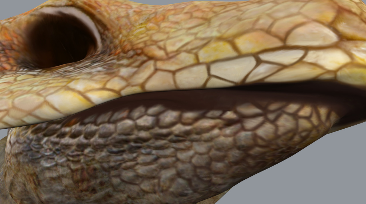 Texture Painting WIP update.Model in Maya, Sculpt and Paint in Mudbox, additional paint in Photoshop.