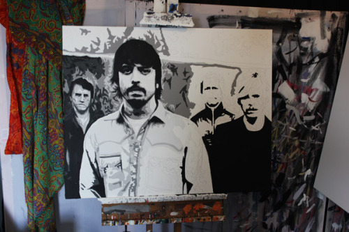 WORK IN PROGRESS - Foo Fighters!  http://www.splinteredstudios.om