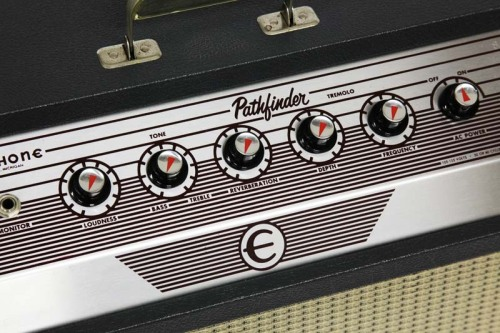 bushdog:  1964 EPIPHONE PATHFINDER VINTAGE ELECTRIC TUBE GUITAR AMP AMPLIFIER by GIBSON