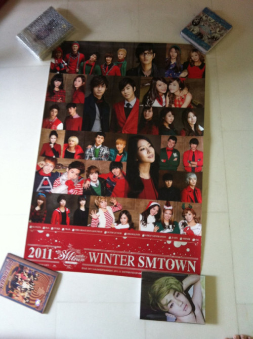 Smtown Winter album poster - SGD8
