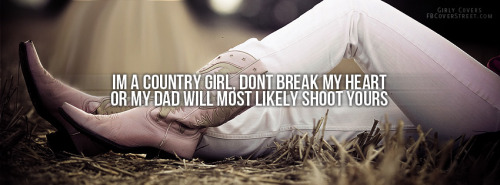 Country Girl Facebook Covers