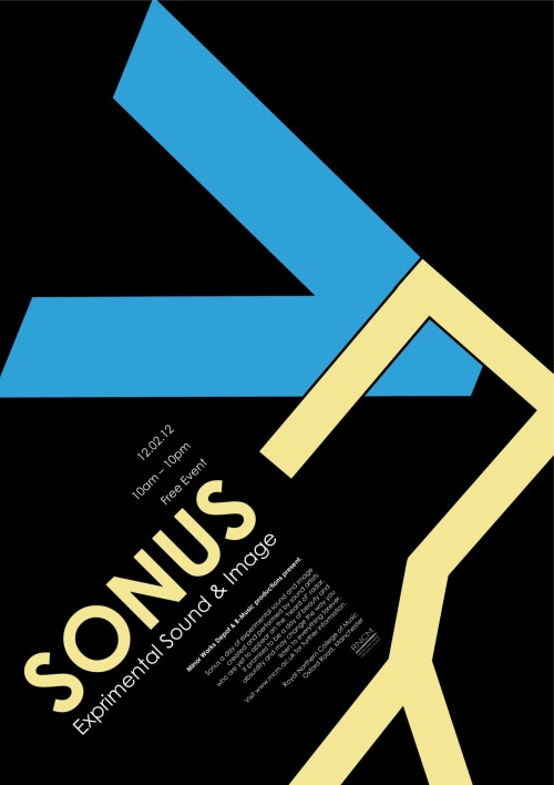 My Final poster for the Sonus brief. I really like How I have done this poster… I feel like it was not the best design I had but I made the design come to life.