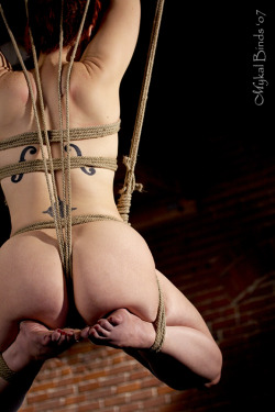 strung up like the instrument she is, wonderful