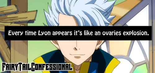 """Every time Lyon appears it's like an ovaries explosion."""