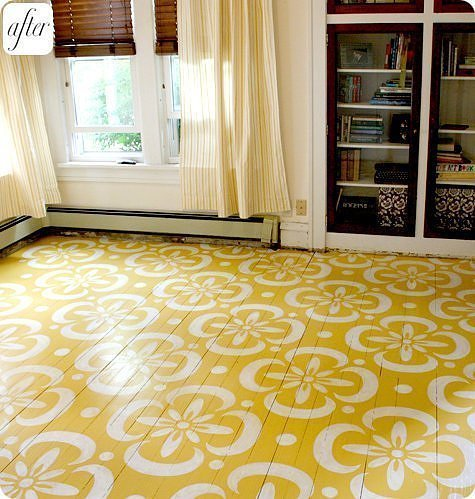 bohemianhomes:  Bohemian Home: Painted floors