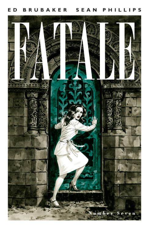 Fatale #7 Story by:Ed BrubakerArt By:Sean Phillips & Dave StewartCover By:Sean Phillips  Price:$3.50Diamond ID:MAY120607On Sale:TBDSeries:Fatale BRUBAKER and PHILLIPS best-selling occult noir series continues its second arc, as the dark secrets of mid-70s Los Angeles begin to creep into Josephine's new life.  Drugs, sex, cults, fame, and murder, all walk hand in hand in the shadow of  demonic forces.