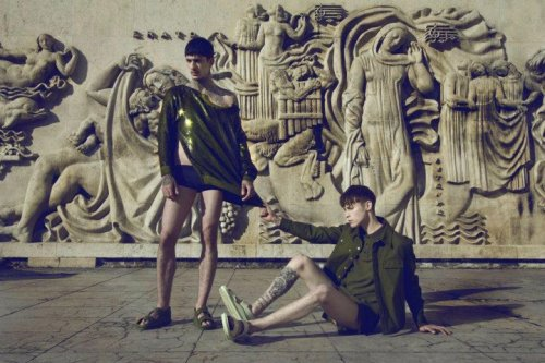 bleeding-anchors:  Daniel Bamdad & Simon Nygard for Men's Uno May Issue 2012