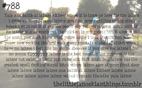 thelittlejanoskianthings:  #788 In celebration of 3,000 followers  skip, ♥