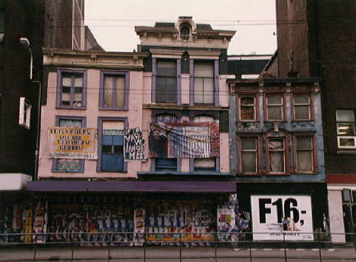 The Hague's 'Iets Vrijers' squat in 1991