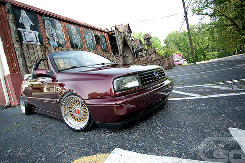 Street cred Starring: Volkswagen Golf Mk3 (by SDOBBINS Photography)