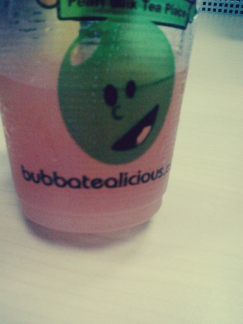favorite office drink :) **weird lang ng mascot/logo nila…