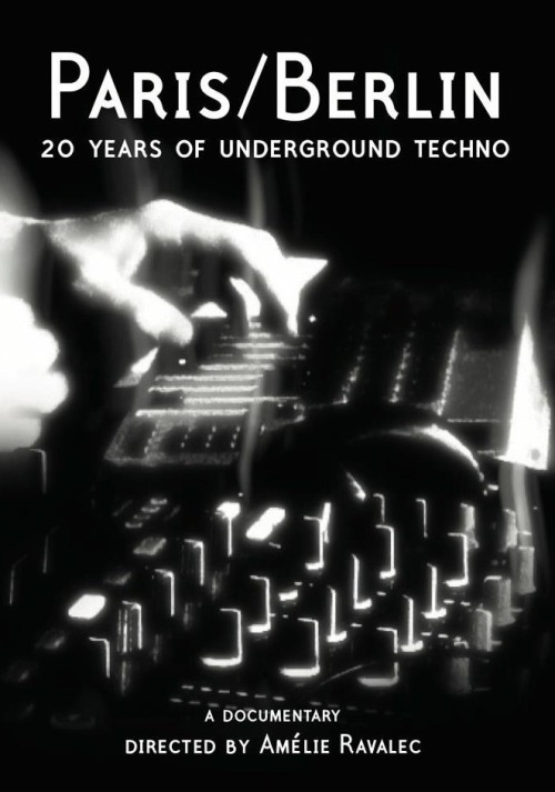 "beatboxdigital:  Paris / Berlin: 20 Years of Underground Techno A documentary directed by Amélie Ravalec 52m, 2012 Ltd To 500 Copies. ""This is what techno was about, this is what it should be about, and hopefully this is gonna stay this way for a while now.."" Adam X (Sonic Groove) This 52"" documentary tells the story of an underground movement, from its beginning until now. Born in Detroit in the late 80s, techno met its audience a few years later in Europe, as the UK, Germany, France and many others countries started to host the foundations of a techno scene. It is mostly focused on Paris and Berlin. Two different cities, two different tales, but techno grew up in both, from secret underground parties to huge clubs, from a small faceless movement to an etablished business, and from vinyl to digital. The documentary features those in the scene who kept it true to its original spirit. About twenty people trace the evolution of techno over the years. They all have different profiles - dj, producer, label manager, promoter, record shop owner.. but all share a common passion :TECHNO .  With Adam X (Sonic Groove), Regis (Downwards), Ancient Methods (AM/ Downwards), Kareem (Zhark Berlin), Function (Sandwell District), Lucy (Stroboscopic Artefacts), Laurent Garnier (Fcom), Nick Höppner (Ostgut ton), Terence Fixmer (Planète Rouge), Christophe (Toolbox Records),Tama Sumo (Ostgut ton), Dasha Rush (Full Panda), Henning Baer (Grounded Theory), Milton Bradley (Do not resist the beat), Lupo (Dubplates&Mastering), Tobias Rapp (Berlin, techno und der Easy Jet set), Electric Rescue (Skryptom), Fabrice Gadeau (Rex Club), Laurent Baylet / Patrick Bamberger (Dimuschi), Mathieu Guilien (Paris III-Sorbonne), Remote (Kill the Dj), Heartbeat (Dement3d) PRE-ORDER HERE (Shipping on around 23rd May 2012) http://www.paris-berlin-20years.com/orderdvd.html PREVIEW HERE http://vimeo.com/23252955"