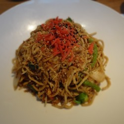 Yaki soba @wagamama #food #asian #quincymarket #faneuilhall #boston #iheartboston  (Taken with Instagram at Wagamama)