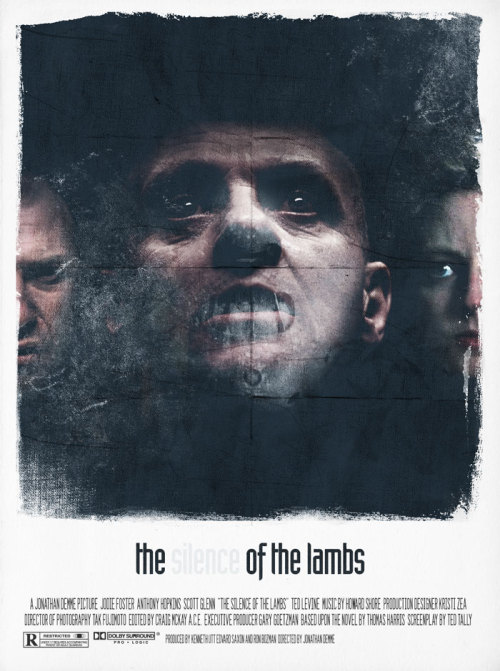 """The           Of The Lambs""  movieposter"