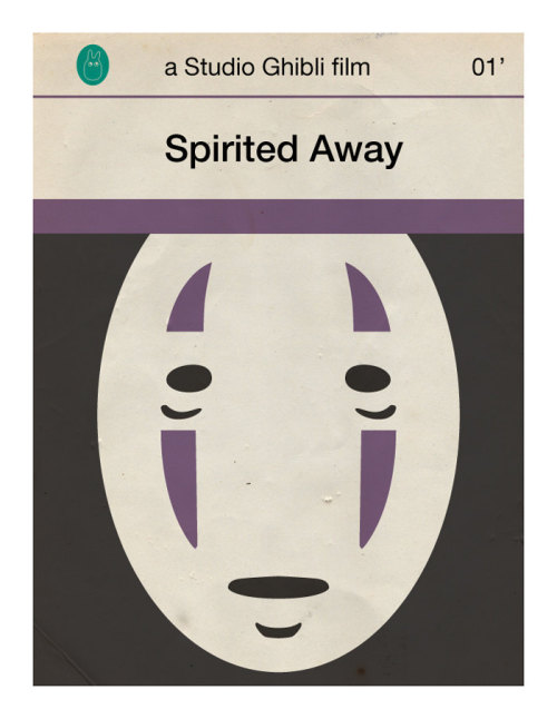 Spirited Away mini poster by 845studio on Etsy