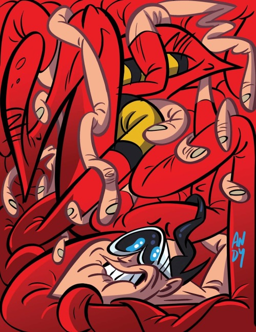Plastic Man by Andy Suriano