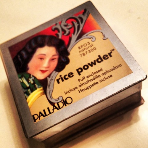 Loving this new #paladio #ricepowder from #sallybeauty  (Taken with instagram)